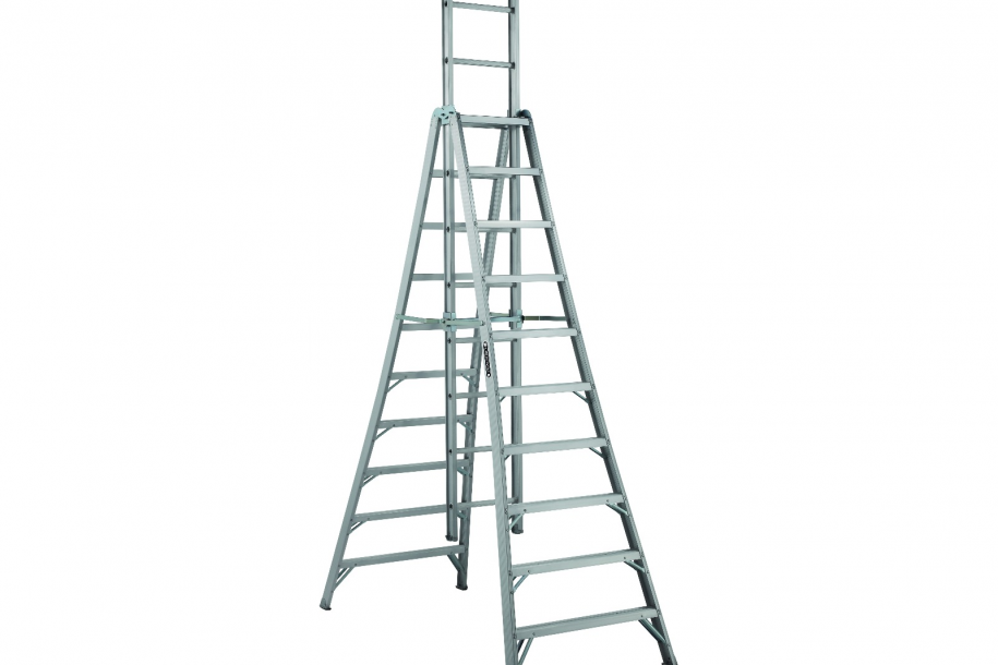 A-Frame Ladder - 15\' - Barrons Barrons