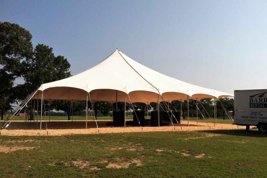 40x40 Pole Tent (2)