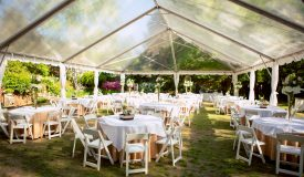 Clear Top Frame Tents