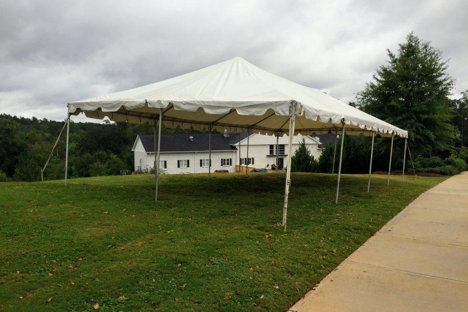 20\' x 40\' Frame Tent - Barrons Barrons