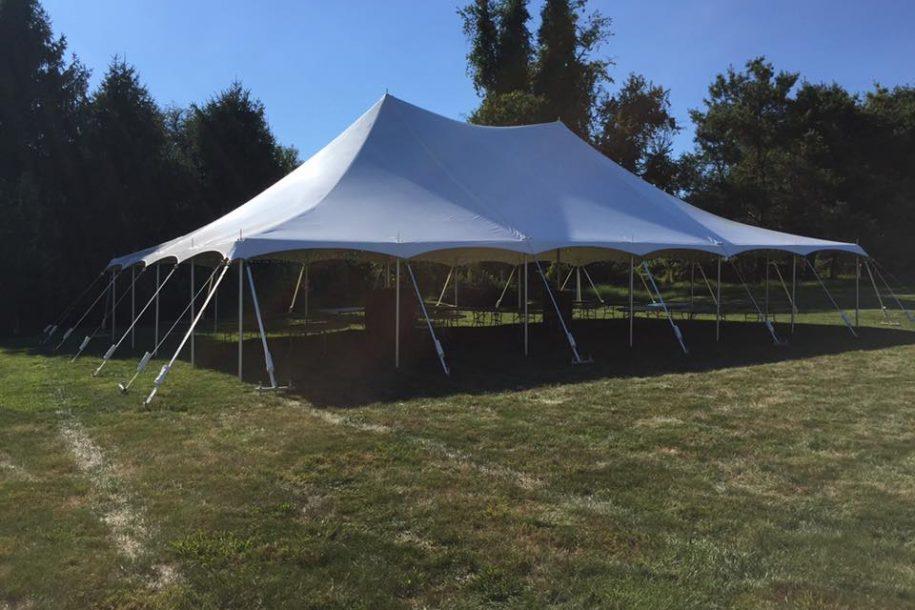 40u2032 x 60u2032 Pole Tent & 40u0027 x 60u0027 Pole Tent - Barrons Barrons